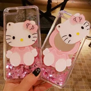 ハローキティ - ミラー付きiPhone11proケースハローキティサンリオhello kitty