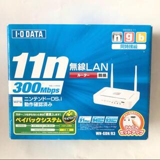 アイオーデータ(IODATA)のIODATA wifiルーター WN-GDN/R3 無線LANルーター(PC周辺機器)
