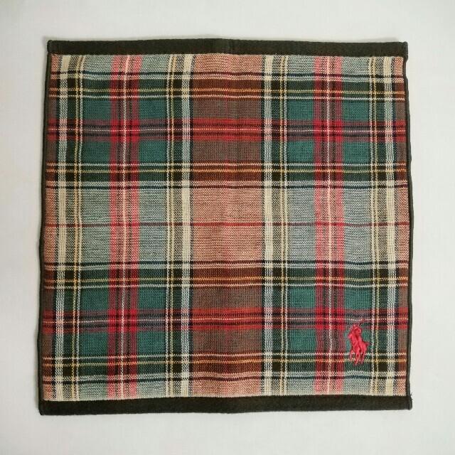 ラルフローレン ミニタオル ハンドタオル☘ レディースのファッション小物(ハンカチ)の商品写真
