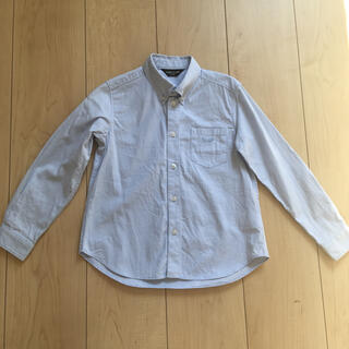 コムサイズム(COMME CA ISM)のコムサイズム ワイシャツ キッズ 110 男の子 ブルー(Tシャツ/カットソー)
