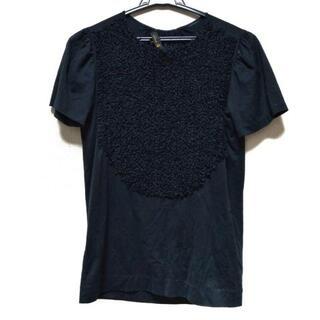 ドゥロワー(Drawer)のドゥロワー 半袖Tシャツ サイズ1 S - 黒(Tシャツ(半袖/袖なし))