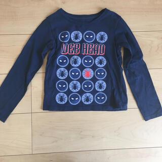 ディズニー(Disney)のディズニー スパイダーマン ロンティー 100 男の子 ブルー(Tシャツ/カットソー)