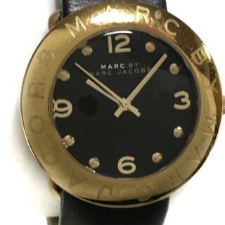 マークバイマークジェイコブス(MARC BY MARC JACOBS)のマークジェイコブス 腕時計 MBM1154 黒(腕時計)