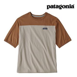 patagonia - パタゴニア フットボールTシャツ Sサイズ