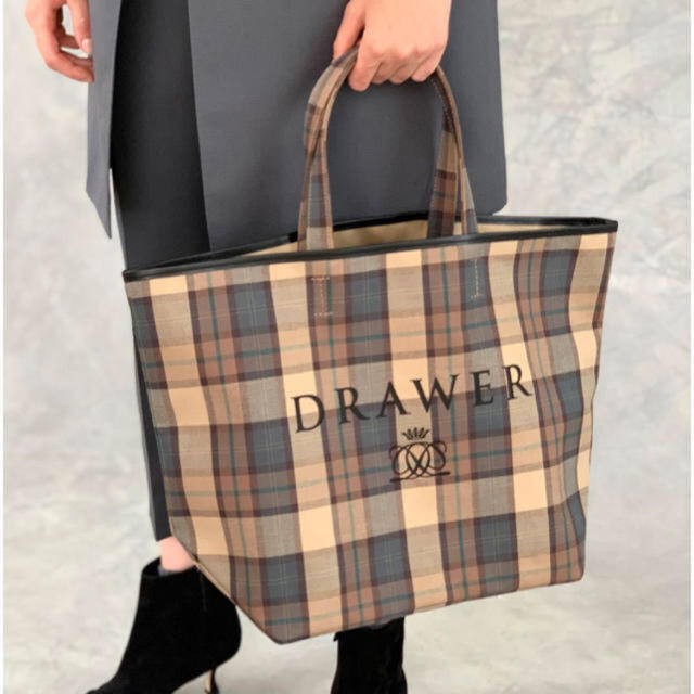 Drawer(ドゥロワー)のドゥロワー  ノベルティートートバック レディースのバッグ(トートバッグ)の商品写真