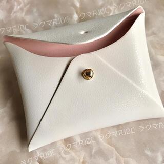Christian Dior - 【新品箱有】海外限定 レザー調 カードケース カードホルダー ポーチ 非売品