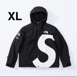 シュプリーム(Supreme)のSupreme The North Face Sロゴマウンテンジャケット黒 XL(マウンテンパーカー)