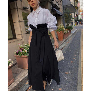 Ameri VINTAGE - Ameri VINTAGE MILLEFEUILLE SHIRT DRESS