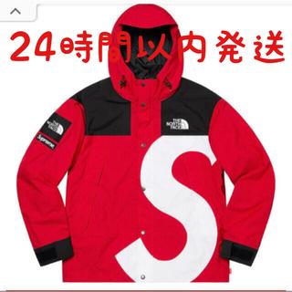 シュプリーム(Supreme)のSupreme North Face Mountain Jacket Red L(ナイロンジャケット)