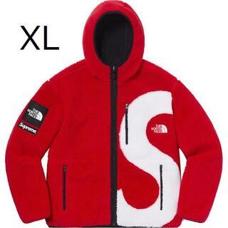 Supreme North Face S Logo Fleece XL red