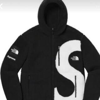 Supreme S Logo Hooded Fleece Jacket L