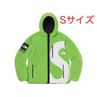 SUPREME S Logo Hooded Fleece Jacket