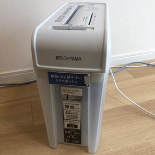アイリスオーヤマ(アイリスオーヤマ)のシュレッダー P5HCS アイリスオーヤマ ホワイト(OA機器)