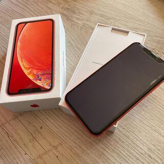 iPhone - 美品 iPhone xr 64GB コーラル 本体
