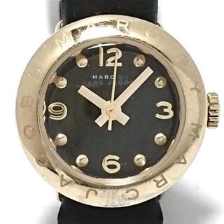 マークバイマークジェイコブス(MARC BY MARC JACOBS)のマークジェイコブス 腕時計 - MBM1254 黒(腕時計)