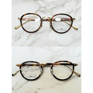 【OLIVER PEOPLES WEST】べっこう伊達眼鏡