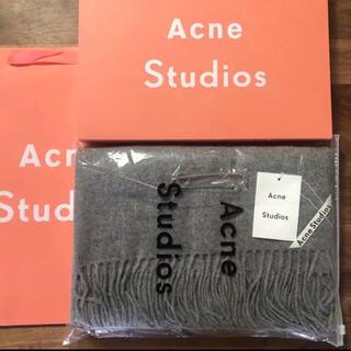 ACNE - acne studios アクネストゥディオス マフラー ストール 大判