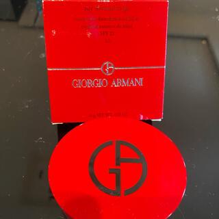 ジョルジオアルマーニ(Giorgio Armani)のアルマーニクッションファンデ 5.5 一度のみ使用(ファンデーション)