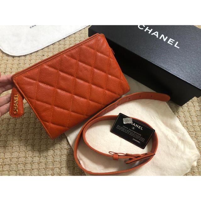 CHANEL(シャネル)のシャネル キャビア ウエスト ポーチ レディースのバッグ(ボディバッグ/ウエストポーチ)の商品写真