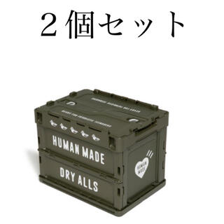 A BATHING APE - 【2個セット】HUMANMADE CONTAINER 20L olive