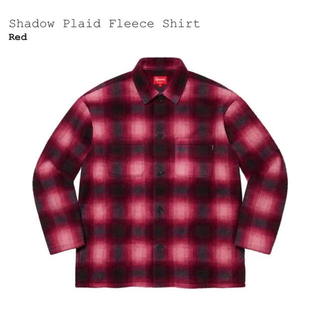 Supreme - Shadow Plaid Fleece Shirt