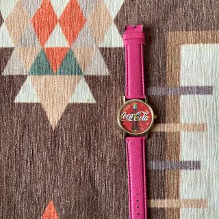 コカコーラ(コカ・コーラ)のコカコーラレディース腕時計(腕時計)