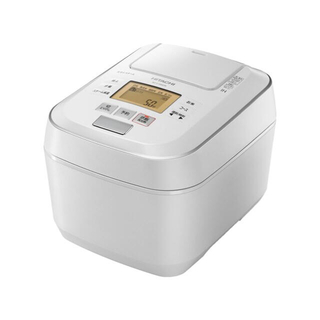ヒタチ(日立)の日立炊飯器 RZV100CM W色(お値下げしました)(炊飯器)