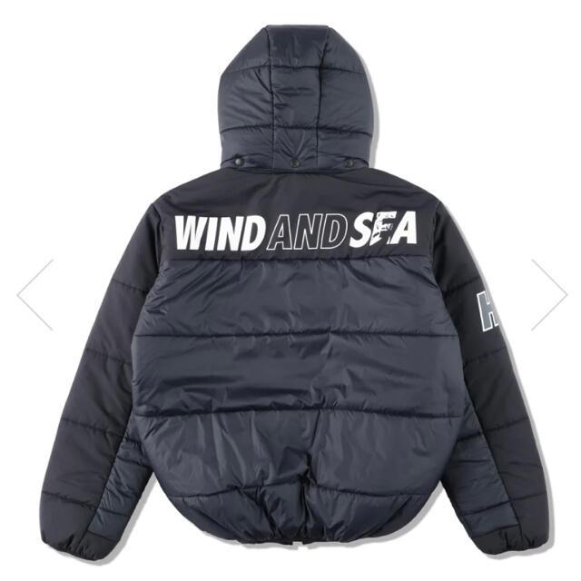 SEA(シー)のwind and sea × hysteric glamour ダウンジャケット メンズのジャケット/アウター(ダウンジャケット)の商品写真