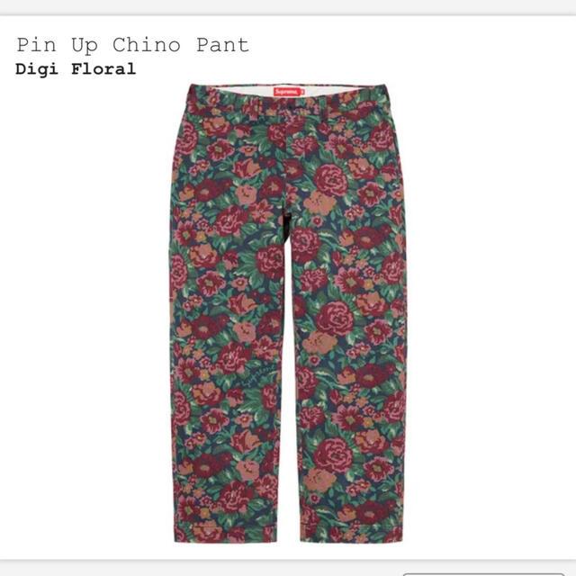 Supreme(シュプリーム)のSupreme Pin Up Chino Pant Digi Floral 32 メンズのパンツ(チノパン)の商品写真