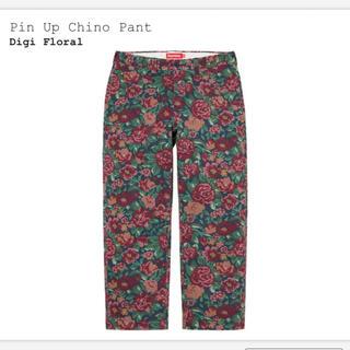 Supreme - Supreme Pin Up Chino Pant Digi Floral 32