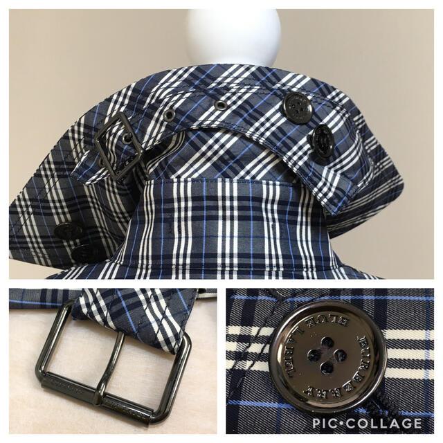 BURBERRY BLUE LABEL(バーバリーブルーレーベル)の【新品同様】タグ付 BURBERRY バーバリー ロゴ ベルト コート レディースのジャケット/アウター(トレンチコート)の商品写真