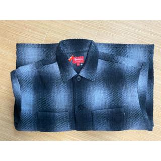 Supreme - Supreme Shadow Plaid Fleece Shirt M