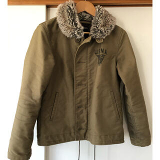 ALPHA INDUSTRIES - ALPHA デッキジャケット N-1