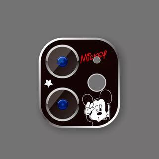 Disney - 新品iPhone11カメラフィルムミッキー マウスプリンセスレンズ保護ディズニー