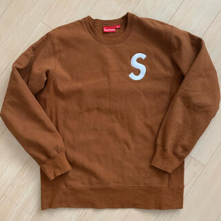 Supreme - Supreme  S Logo Crewneck XL クルーネック ブラウン