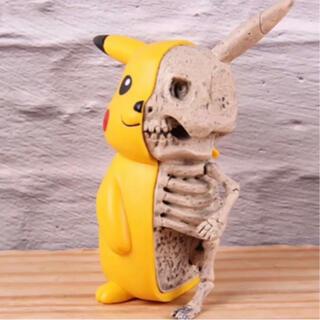 未開封 レア ピカチュウ スケルトン フィギュア ポケモン 骨 スカル 骨格標本
