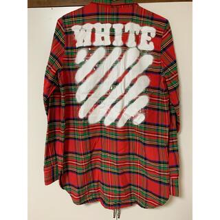 OFF-WHITE - off-white シャツ xs