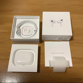 Apple - ほぼ新品 Apple Air pods pro 国内正規品 AirPods