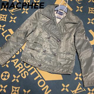マカフィー(MACPHEE)の《美品》【MACPHEE 】トゥモローランド ジャケットブルゾン(ノーカラージャケット)