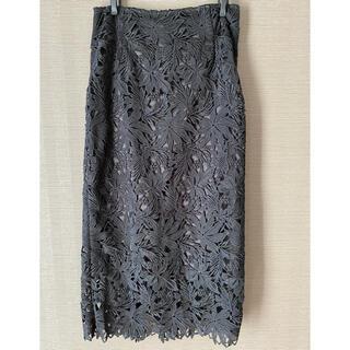 Loungedress - 【ラウンジドレス】オールシーズンOK♡フラワーレースタイトスカート