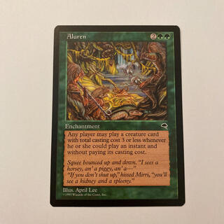 マジックザギャザリング(マジック:ザ・ギャザリング)のMTG 魔の魅惑 Aluren(シングルカード)