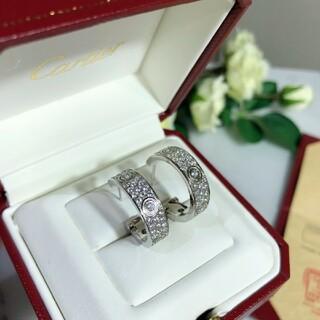 Cartier - カルティエダイヤモンドピアス