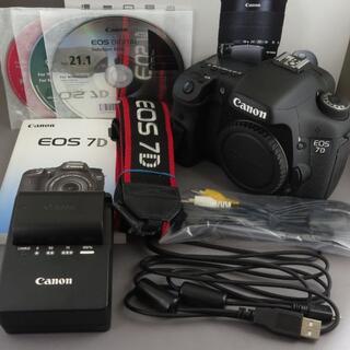 Canon - キヤノン EOS7D シャッター回数わずか!