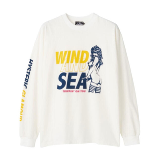 SEA - wind and sea × HYSTERIC GLAMOUR コラボロンT