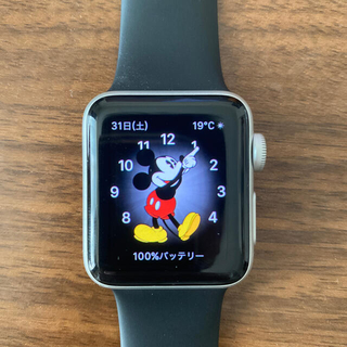 Apple Watch - Apple watch Series3 38mm アルミケース
