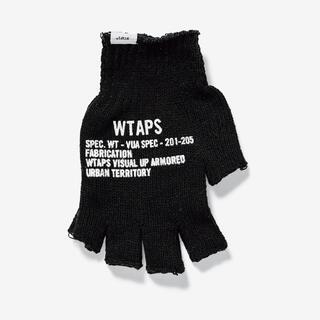 ダブルタップス(W)taps)のWTAPS TRIGGER / GLOVE / ACRYLIC 黒(手袋)