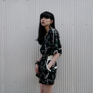 mame - mame kurogouchi 鈴蘭 ショートパンツ