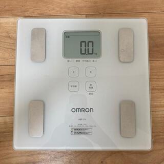 OMRON - 体重計 オムロン HBF-214