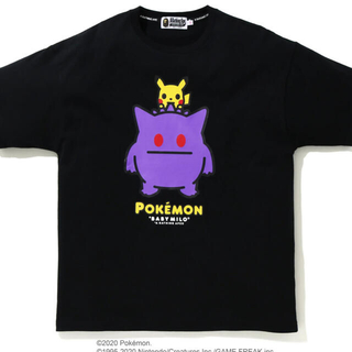 A BATHING APE - Bape Pokemon Gengar Ladies Tee S