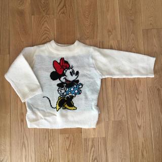 フタフタ(futafuta)のfutafuta   ミニーちゃん あったかセーター 80サイズ(ニット/セーター)
